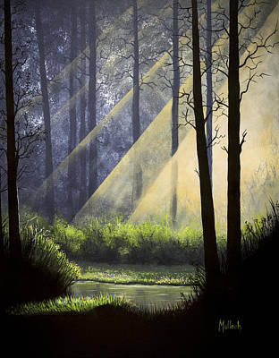 Painting - A Quiet Place by Jack Malloch