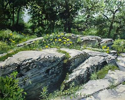 Painting - A Quiet Slope by William Brody