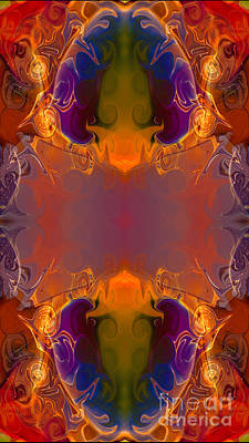 Digital Art - A Rainbow Of Life Abstract Living Art By Omaste Witkowski by Omaste Witkowski