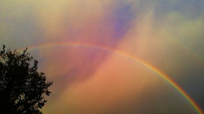 Art Print featuring the photograph A Ranbow by Chris Tarpening