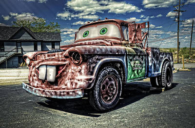 Photograph - A Real Tow-mater by Ken Smith
