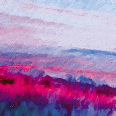 Painting - A Red Sound by The Art of Marsha Charlebois
