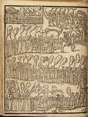 Procession Photograph - A Religious Procession by British Library