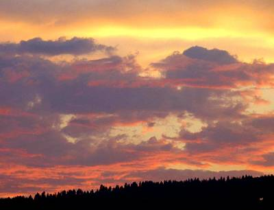 A Summer Evening Photograph - A Remarkable Sky by Will Borden