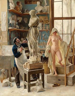 Dantan Painting - A Restoration by Edouard Joseph Dantan