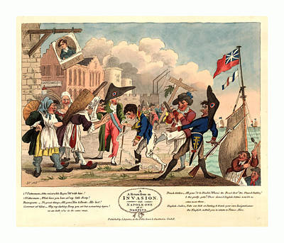 A Return From An Invasion, Or, Napoleon At A Nonplus Art Print