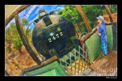 Photograph - A Ride On The Niles Canyon Railway by Blake Richards