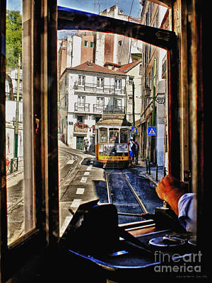 Photograph - A Ride On Tram 28 by Pedro L Gili