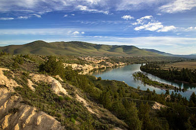 Photograph - A River Runs Through The Mission Valley by Jack Bell