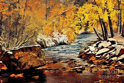 A River Runs Thru It Art Print