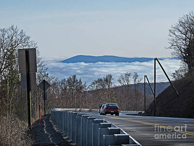 Photograph - A Road Into The Clouds by Dawn Gari