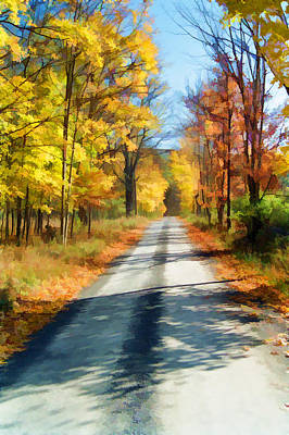 Photograph - A Road Less Travelled by Allen Beatty