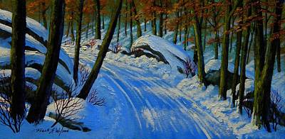 Painting - A Road Still Traveled by Frank Wilson