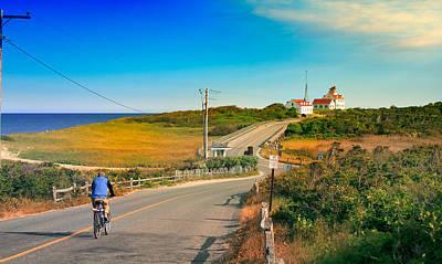 A Road To Coast Guard Beach Eastham Cape Cod Art Print by Dapixara Art