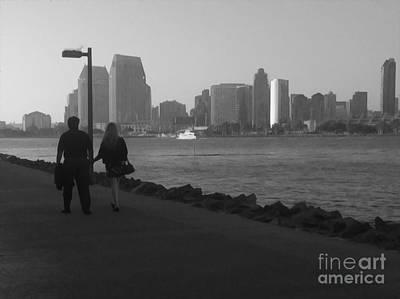 Photograph - A Romantic Walk by Claudia Ellis