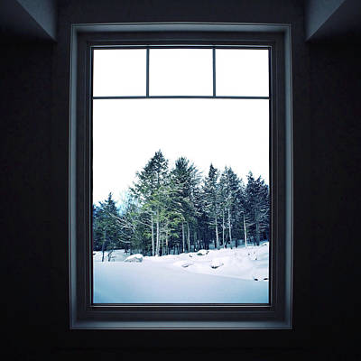 Winter Photograph - A Room With A View by Natasha Marco