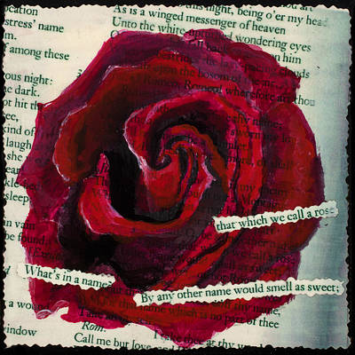 A Rose By Any Other Name Original by Mary Benke