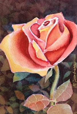 Painting - A Rose For You by Marilyn Jacobson