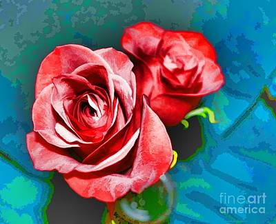 Photograph - A Rose Is A Rose Even By Another Name by Luther Fine Art