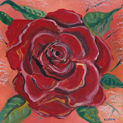 Painting - A Rose Is A Rose by John Keaton
