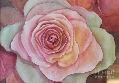 Painting - A Rose Is A Rose by Kathy Staicer