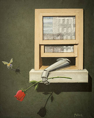 Painting - A Rose Is Still A Rose by Jack Malloch