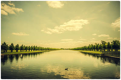 Photograph - A Royal Long Lake by Lenny Carter