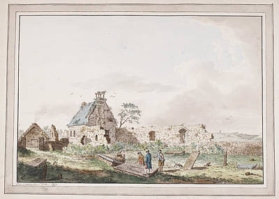 Joseph Photograph - A Ruined Building And Croft In Scotland by British Library