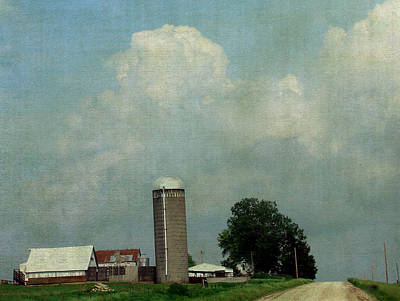 A Rural Farm Scene Art Print