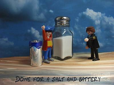 Photograph - A Salt And Battery by Caroline Peacock