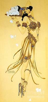 A Saucy Salome Art Print