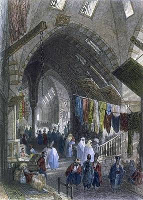 A Scene In The Tchartchi, C.1850 Print by William Henry Bartlett