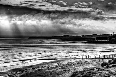 Photograph - A Scene On The Irish Sea by Joseph Noonan