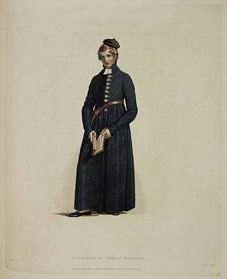 Portaits Photograph - A Scholar Of Christ Hospital by British Library