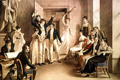 A Schubertian Party Art Print by Granger