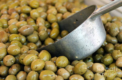 Photograph - A Scoop Of Olives by Haleh Mahbod
