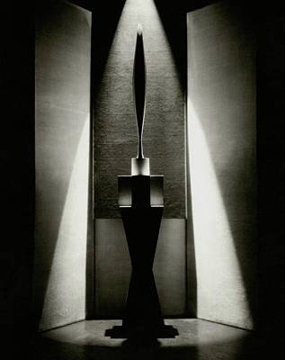 Visual Photograph - A Sculpture Called The Bird by Edward Steichen