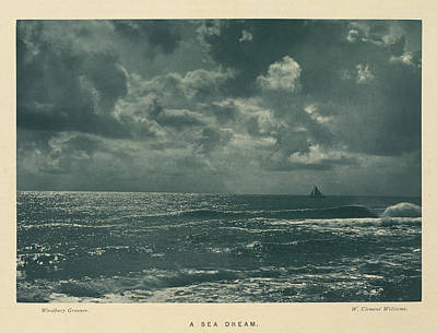 Clements Photograph - A Sea Dream by British Library