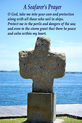 Photograph - A Seafarer's Prayer by Bob Sample