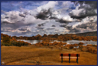Photograph - A Seat At The Dance by Wayne King