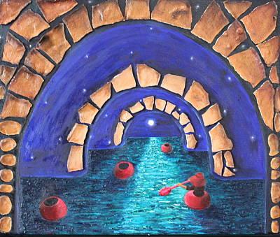 Painting - A Seeker by Margarita Gokun
