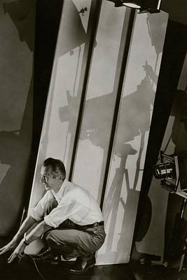A Self-portrait Of Edward Steichen Art Print by Edward Steichen