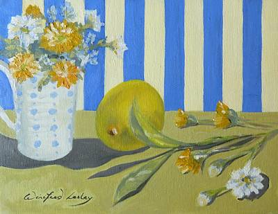 Painting - A Sense It's Summer by Winifred Lesley
