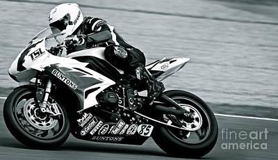 Photograph - A Sense Of Speed by David Warrington