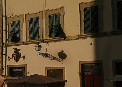 Photograph - A Shady Venitian Street by Maria  Disley