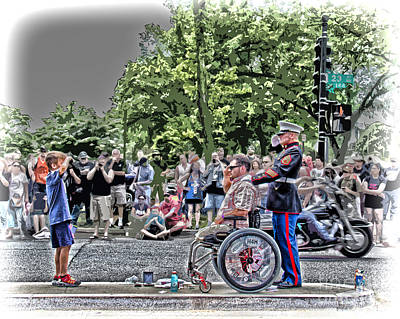 Remembering The Sacrifice Photograph - A Show Of Respect by Tom Gari Gallery-Three-Photography