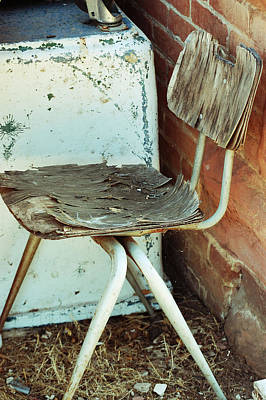 Photograph - A Shred In The Chair  by Holly Blunkall