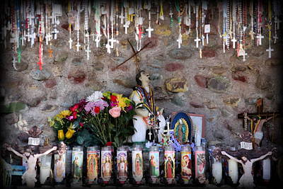 Wine Beer And Alcohol Patents - A Shrine at Chimayo by Lynn Sprowl