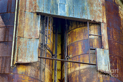 Photograph - A Silo Of Many Colors by Paul W Faust -  Impressions of Light