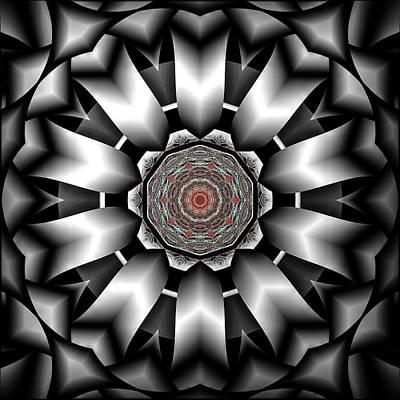 Digital Art - A Silver Lining by Michael Damiani